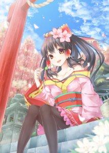 Rating: Safe Score: 46 Tags: dabadhi hakurei_reimu kimono pantyhose touhou User: 椎名深夏