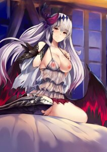 Rating: Explicit Score: 99 Tags: armor breasts granblue_fantasy haik jeanne_d'arc_(granblue_fantasy) nipples no_bra nopan pussy_juice see_through wings User: Mr_GT