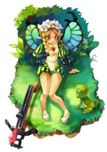 Rating: Safe Score: 18 Tags: fairy heels mercedes odin_sphere pointy_ears shinkei_(kamisakai) weapon wings User: Mr_GT