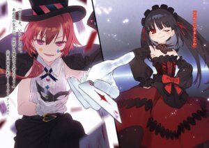 Rating: Safe Score: 19 Tags: date_a_live dress gothic_lolita lolita_fashion noco tokisaki_kurumi User: kiyoe