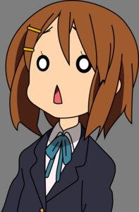 Rating: Safe Score: 31 Tags: hirasawa_yui k-on! seifuku transparent_png vector_trace User: zRayk