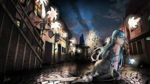 Rating: Safe Score: 27 Tags: heels landscape saraki thighhighs wallpaper User: Mr_GT