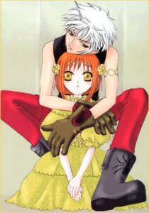 Rating: Safe Score: 2 Tags: fruits_basket jpeg_artifacts sohma_hatsuharu sohma_kisa takaya_natsuki User: Ookami_Tsukikage