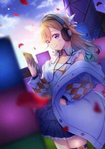 Rating: Safe Score: 13 Tags: garter headphones love_live!_super_star!! macken666 shibuya_kanon User: Mr_GT