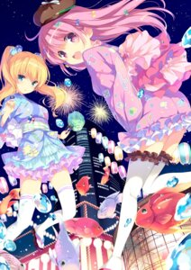 Rating: Questionable Score: 95 Tags: garter ohara_tometa qp:flapper thighhighs yukata User: marshmallow