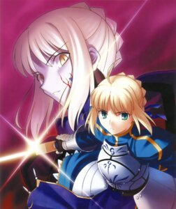 Rating: Safe Score: 16 Tags: fate/stay_night higurashi_ryuuji saber saber_alter type-moon User: adm100388