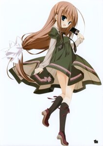 Rating: Safe Score: 32 Tags: dress heels inugami_kira kurashiki_sera z/x_zillions_of_enemy_x User: Hatsukoi