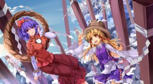 Rating: Safe Score: 10 Tags: koxo-01 moriya_suwako touhou yasaka_kanako User: Mr_GT