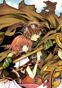 Rating: Safe Score: 7 Tags: clamp kinomoto_sakura li_syaoran tsubasa_reservoir_chronicle User: Radioactive
