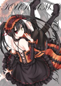 Rating: Questionable Score: 80 Tags: date_a_live dress gothic_lolita heels heterochromia jpeg_artifacts lolita_fashion pantyhose sigemi tokisaki_kurumi User: 谢尔曼M4