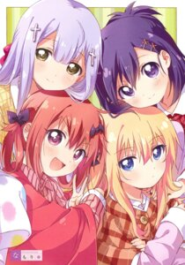 Rating: Safe Score: 19 Tags: gabriel_dropout kurumizawa_satanichia_mcdowell namori resort_ukami shiraha_raphiel_ainsworth tenma_gabriel_white tsukinose_vignette_april User: kiyoe