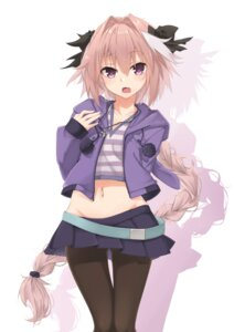 Rating: Safe Score: 26 Tags: astolfo_(fate) fate/apocrypha fate/grand_order fate/stay_night ivan_wang nopan pantyhose trap User: charunetra