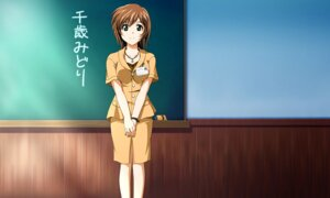 Rating: Safe Score: 6 Tags: chitose_midori green_green uniform wallpaper User: dilv3n
