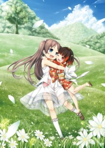 Rating: Safe Score: 16 Tags: cura dress emi_(monobeno) kimono lose monobeno possible_duplicate sawai_natsuha see_through summer_dress User: Twinsenzw