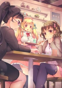 Rating: Safe Score: 28 Tags: megane mg_kurino thighhighs waitress User: Mr_GT