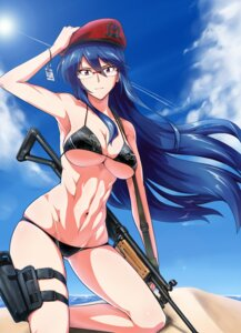 Rating: Questionable Score: 54 Tags: bikini cleavage gun megane ore-halcon swimsuits underboob User: vkun