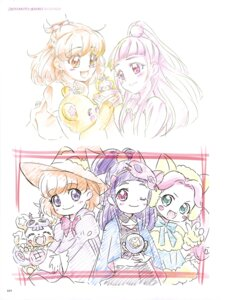 Rating: Questionable Score: 6 Tags: animal_ears mahou_girls_precure! miyamoto_emiko pretty_cure sketch witch User: drop