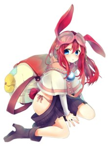 Rating: Questionable Score: 35 Tags: animal_ears bunny_ears heels nachiru pantsu string_panties User: KazukiNanako