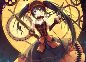 Rating: Safe Score: 55 Tags: baisi_shaonian date_a_live dress gothic_lolita gun heterochromia lolita_fashion tokisaki_kurumi User: Mr_GT