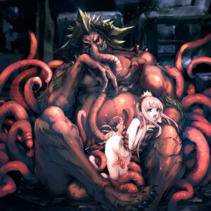 Rating: Explicit Score: 95 Tags: extreme_content hitomaru monster naked sex shrine tentacles User: blooregardo