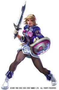 Rating: Questionable Score: 4 Tags: armor cassandra_alexandra kawano_takuji pantyhose soul_calibur soul_calibur_iii sword tagme User: Yokaiou