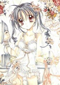 Rating: Safe Score: 10 Tags: full_moon_wo_sagashite kouyama_mitsuki lingerie tanemura_arina User: syaoran-kun