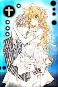 Rating: Safe Score: 7 Tags: otomiya_haine shinshi_doumei_cross tanemura_arina tougu_takanari User: syaoran-kun