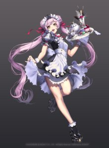 Rating: Safe Score: 70 Tags: chaos_hero_online lovecacao maid skirt_lift tyria User: charunetra