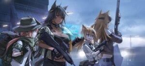 Rating: Safe Score: 21 Tags: animal_ears cleavage girls_frontline gun kisetsu User: Dreista