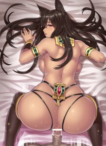 Rating: Explicit Score: 110 Tags: animal_ears anubis anus ass censored cum houtengeki penis sex thighhighs User: demonbane1349