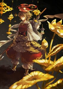 Rating: Safe Score: 16 Tags: animal_ears nakatani nazrin toramaru_shou touhou User: Nekotsúh