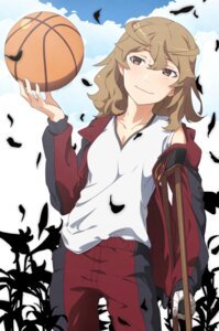Rating: Safe Score: 26 Tags: bakemonogatari bandages basketball gym_uniform hanamonogatari m-ya nisemonogatari numachi_rouka User: sylver650