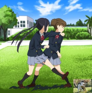 Rating: Safe Score: 26 Tags: k-on! nakano_azusa seifuku suzuki_jun watanore User: Radioactive