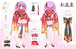 Rating: Safe Score: 29 Tags: alice_gear_aegis character_design ichijou_ayaka japanese_clothes thighhighs yunagi_amane User: Mr_GT