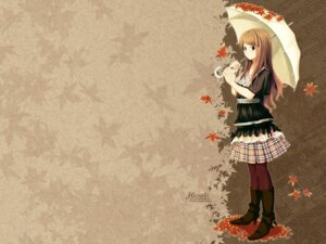 Rating: Safe Score: 4 Tags: i.s.w kitagawa_unagi umbrella wallpaper User: hirotn