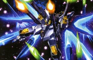 Rating: Questionable Score: 12 Tags: gundam gundam_seed gundam_seed_destiny strike_freedom_gundam User: drop