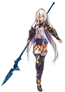 Rating: Safe Score: 40 Tags: armor baffu heels heterochromia stockings thighhighs weapon User: mash