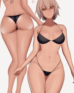Rating: Questionable Score: 31 Tags: ass bikini biriyb fate/apocrypha fate/grand_order fate/stay_night jeanne_d'arc jeanne_d'arc_(alter)_(fate) swimsuits thong User: Genex