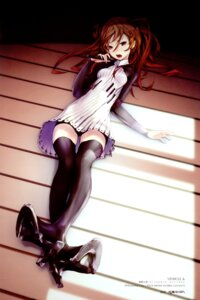 Rating: Safe Score: 77 Tags: color_issue redjuice thighhighs User: Radioactive