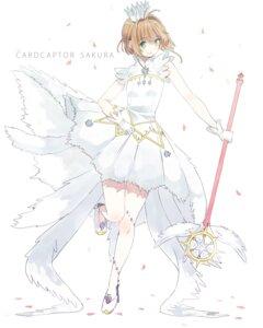 Rating: Safe Score: 25 Tags: card_captor_sakura dress heels kinomoto_sakura npc_(artist) weapon User: charunetra