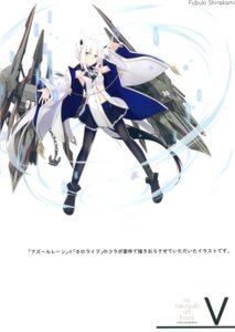 Rating: Safe Score: 20 Tags: animal_ears azur_lane crossover hololive nagishiro_mito shirakami_fubuki tail User: kiyoe