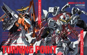 Rating: Safe Score: 5 Tags: gundam gundam_00 mecha takase_kenichi User: Radioactive