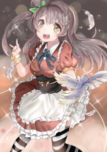 Rating: Safe Score: 42 Tags: dress love_live! maid minami_kotori ranf thighhighs User: Mr_GT