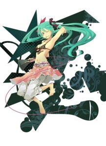 Rating: Safe Score: 22 Tags: bikini_top hatsune_miku jpeg_artifacts underboob vocaloid yoshito User: charunetra