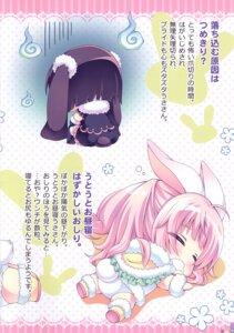 Rating: Questionable Score: 5 Tags: animal_ears bunny_ears chibi roritora school_swimsuit swimsuits tail thighhighs tsukishima_yuuko User: Radioactive