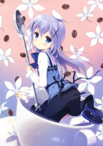 Rating: Safe Score: 82 Tags: gochuumon_wa_usagi_desu_ka? kafuu_chino santa_festa santa_matsuri waitress User: Twinsenzw