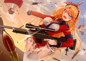 Rating: Questionable Score: 19 Tags: cleavage gun knives_out sarujie_(broken_monky) stockings thighhighs uniform User: hiroimo2