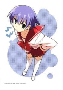 Rating: Safe Score: 14 Tags: kanzaki_hiro seifuku thighhighs to_heart_(series) to_heart_2 tonami_yuma User: Anonymous