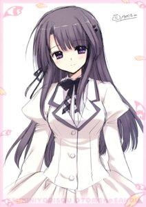 Rating: Safe Score: 22 Tags: hananomiya_mizuho nishimata_aoi seifuku sketch tsuki_ni_yorisou_otome_no_sahou User: Hatsukoi