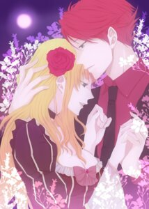 Rating: Safe Score: 7 Tags: beatrice nero_(koyuki) umineko_no_naku_koro_ni ushiromiya_battler User: ghoulishWitchhx